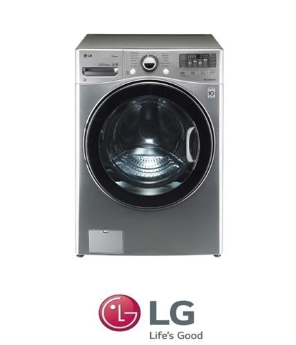 "LG מכונת כביסה 17 ק""ג + מייבש 10 ק""ג דגם  F- 1710CV"