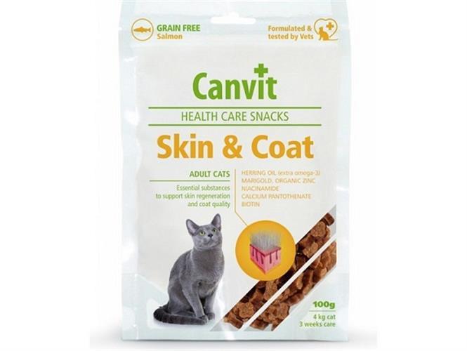 Canvit חטיף היפואלרגני לעור ופרווה