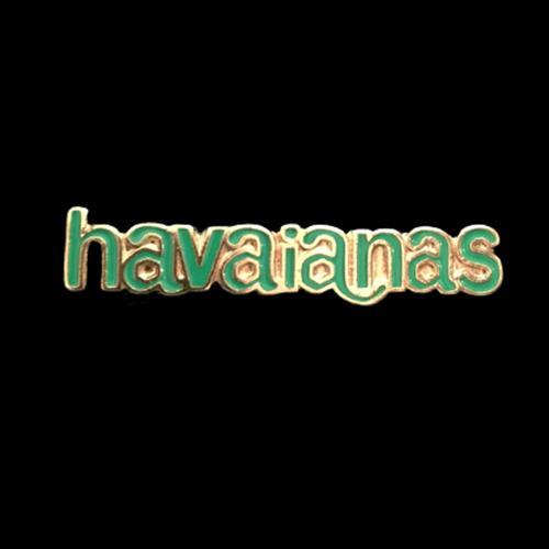 זוג קליפסים לוגו הוויאנס מלאים אמייל - ירוק