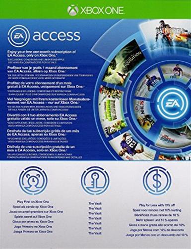 EA Access 1 Month Membership