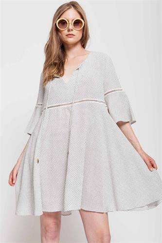 שמלת אריזונה לבנה