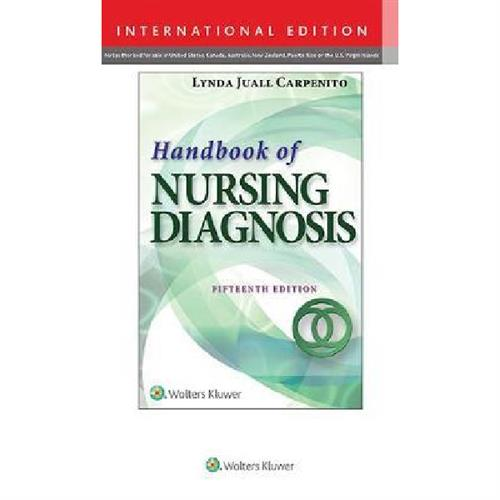 Handbook of Nursing Diagnosis : Application to Clinical Practice