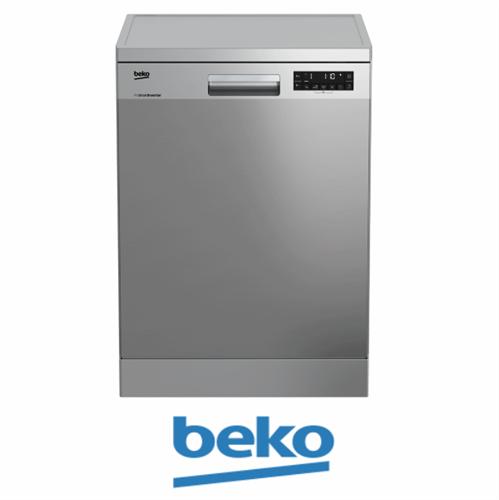 beko מדיח כלים רחב דגם: DFN28320X מתצוגה !