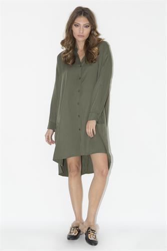 שמלת ברוקלין ירוק