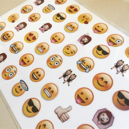 Emoji transfer sheet