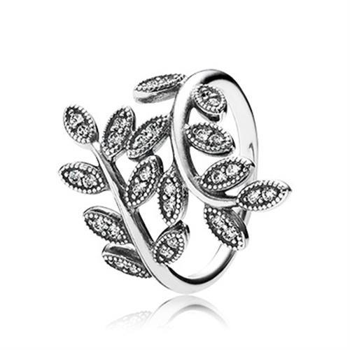 טבעת כסף פנדורה 190921CZ