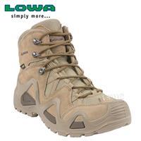 נעליים טקטיות  הרים לואה חום בהיר  LOWA Zephyr GTX Mid Desert