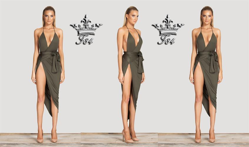 שמלה ערב מעוצבת דגם מייגן