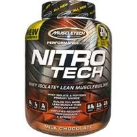 אבקת חלבון נייטרו טק עם קריאטין   NitroTech of MuscleTech