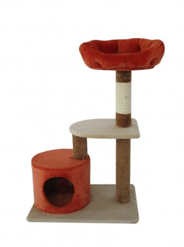מתקן גירוד וישיבה לחתולים דגם מיטת פינוק