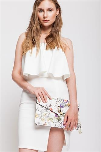 שמלת מונטה קרלו לבנה