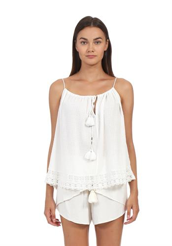 ASHTON TOP WHITE