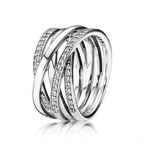 טבעת כסף פנדורה 190919CZ