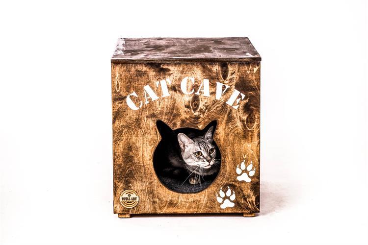 CAT CAVE - בית מעוצב לחתולים