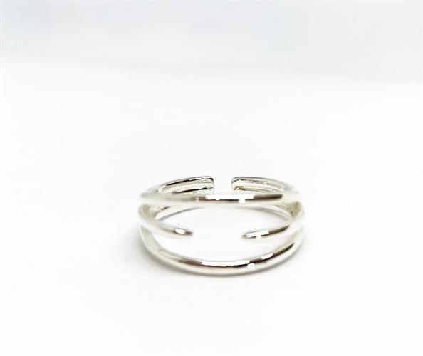 טבעת נינה כסף