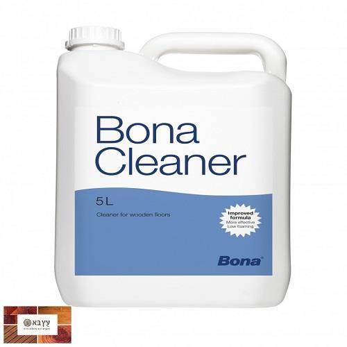 סבון קלינר לפרקט עץ ושעם של חברת Bona