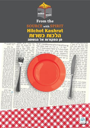 Kashrut laminated cover poster