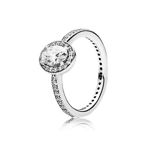 טבעת כסף וינטג' אלגנטי 191017CZ