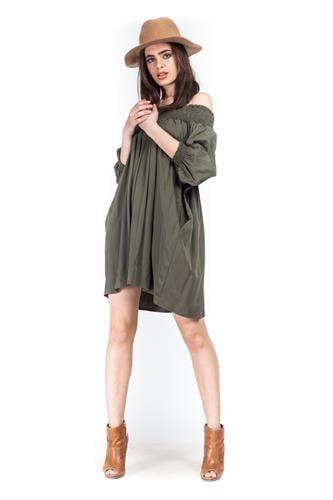 שמלת אלבינה ירוקה