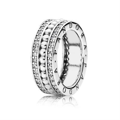 טבעת כסף פנדורה 190962CZ