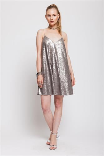 שמלת פארי כסף