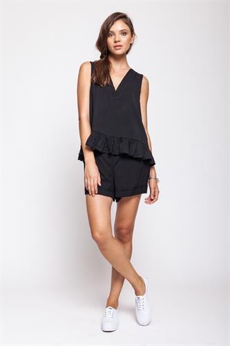 מכנסיים קומפורט שחור