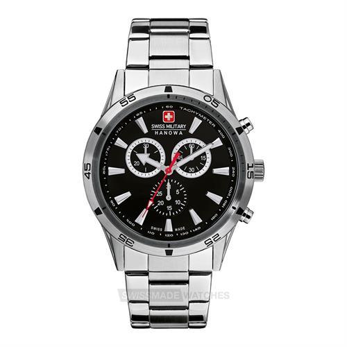 שעון יד אנלוגי גברים Swiss Military Hanowa 06-8041.04.007