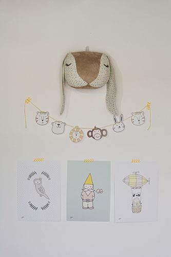 חבילת עיצוב לחדר ארנבון בז'