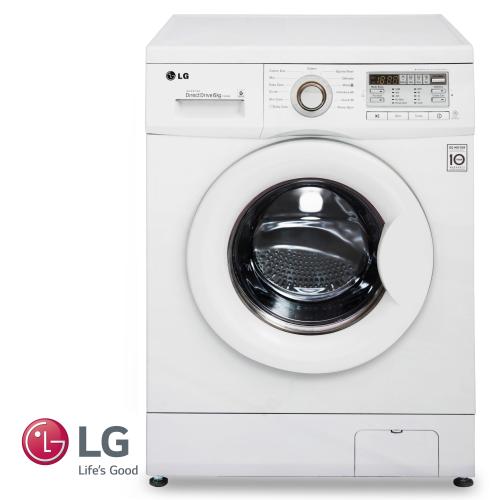 """LG מכונת כביסה 6 ק""""ג דגם F1008XM מתצוגה"""
