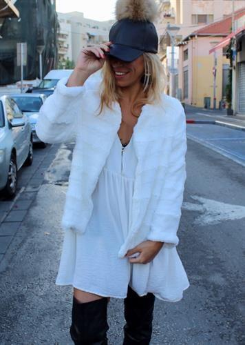 מעיל לבן דברה