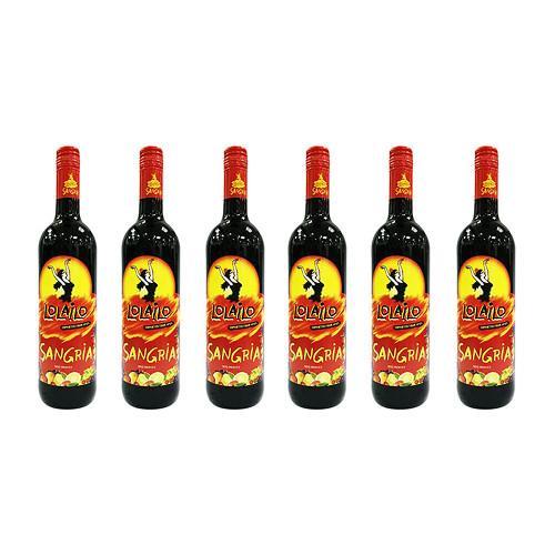 שישיית סנגריה לוליילו בבקבוק