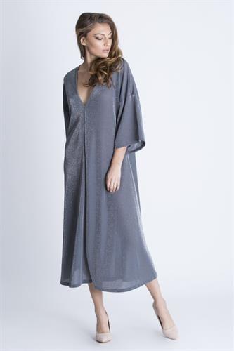 שמלת מיראז' גלאם כסף
