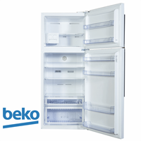 beko מקרר מקפיא עליון 505 ליטר דגם: DN156821 מתצוגה !