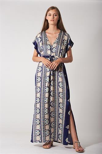 שמלת קמילה כחולה