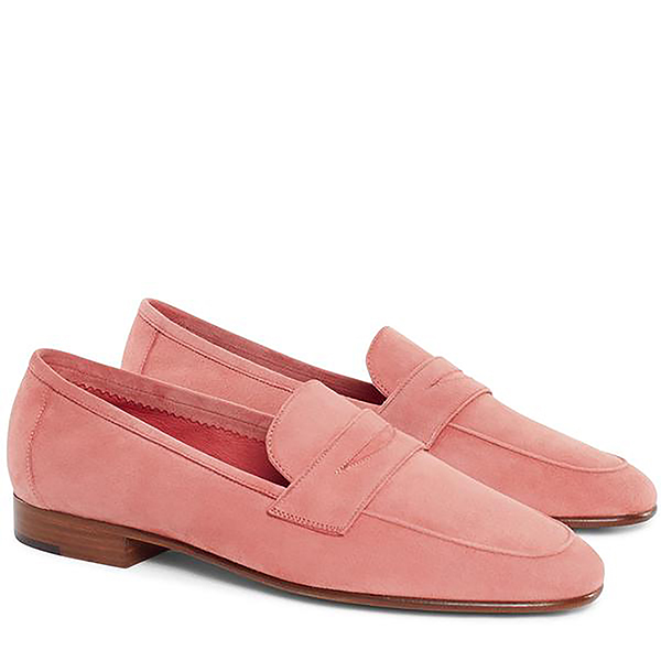 CLASSIC LOAFER SUEDE BLUSH