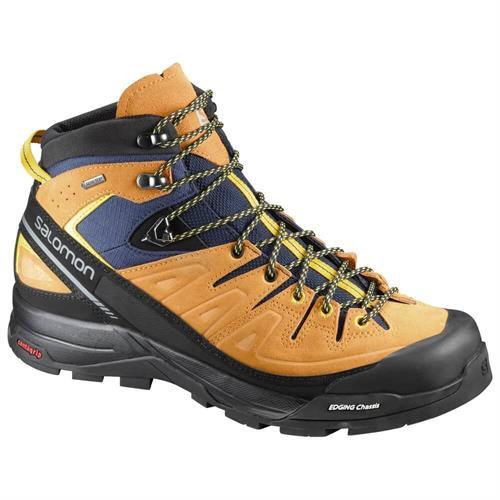 נעלי סלמון הרים גברים -  Salomon men's X ALP MID LTR GTX