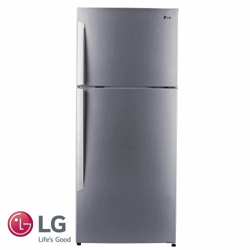 עותק של LG מקרר מקפיא עליון 425 ליטר דגם: GR-B485INVS גוון נירוסטה