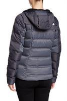 מעיל פוך נשים נורט פייס מדגם The North Face Women's Fuseform Dot Matrix Hooded jacket TNF black
