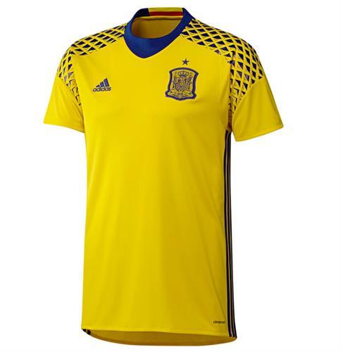 חולצת ספרד צהוב שוער 2016