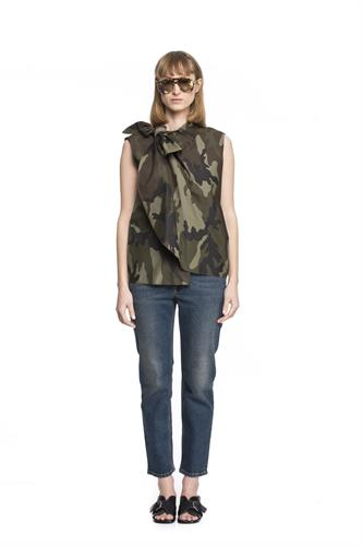MM6 CAMOUFLAGE SHIRT