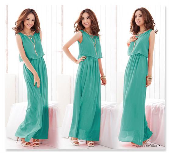 שמלה ארוכה ונסה