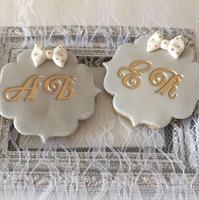 Bell- letters set  2.5 cm high