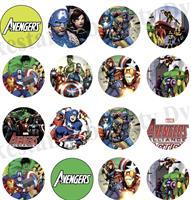 Avengers transfer sheet