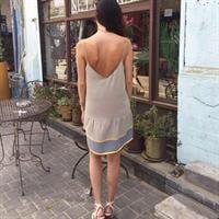 שמלה קייט צהוב