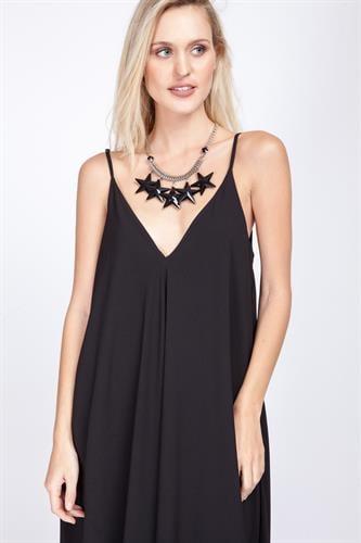 שמלת פיית' שחורה