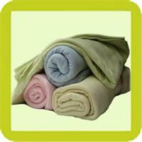 שמיכה איכותית 100% כותנה אורגנית