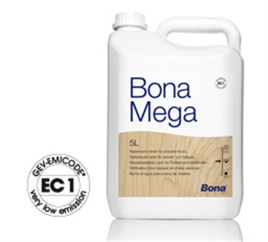בונה לכה לפרקט עץ בונה מגה BONA MEGA