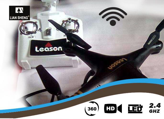 רחפן 4Leason ערוצים LS-126 2.4GH - ללא מצלמה