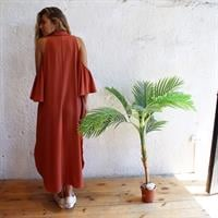 שמלת אאישה צבע חמרה