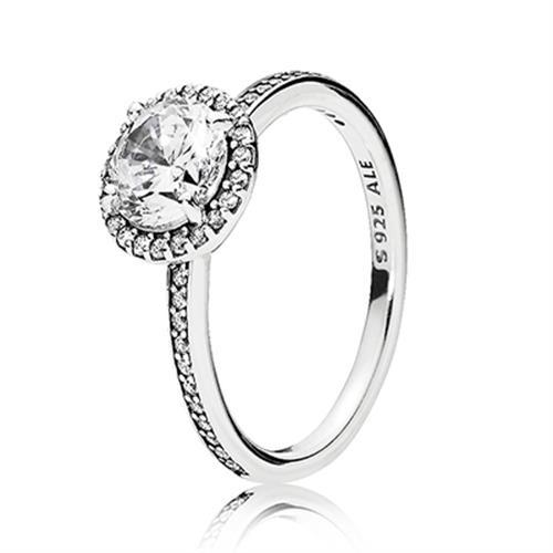 טבעת כסף פנדורה 196250CZ